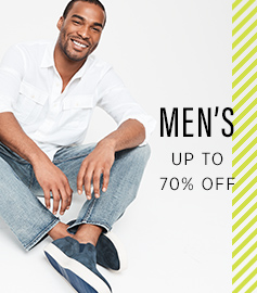 MEN'S Up to 70% OFF