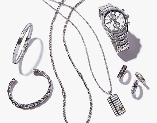 Extra 10% off linkup, effy, saks fifth ave collection and more men's jewelry at saks off fifth